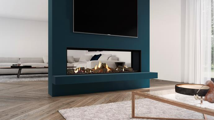 "Escea DS1400 double-sided gas fireplace (including flue), $12,998, [Abbey Fireplaces](https://thefireplace.com.au/|target=""_blank""