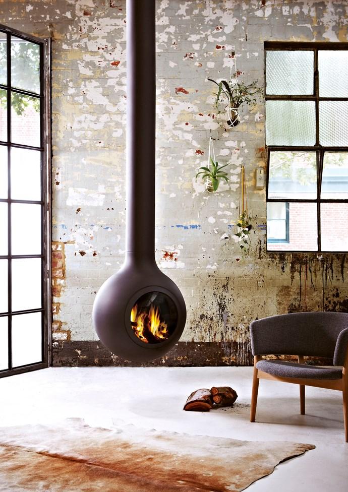 "Focus 'Bathyscafocus Hublot' wood-burning fireplace (including flue), $15,650; [Oblica](https://oblica.com.au/|target=""_blank""|rel=""nofollow"")"