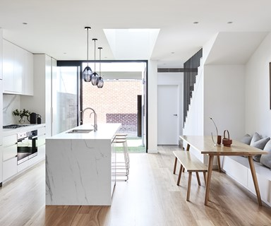 This renovated heritage cottage hides a modern light-filled interior