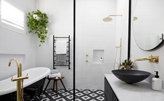 The block bathrooms
