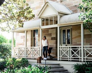 sandstone home