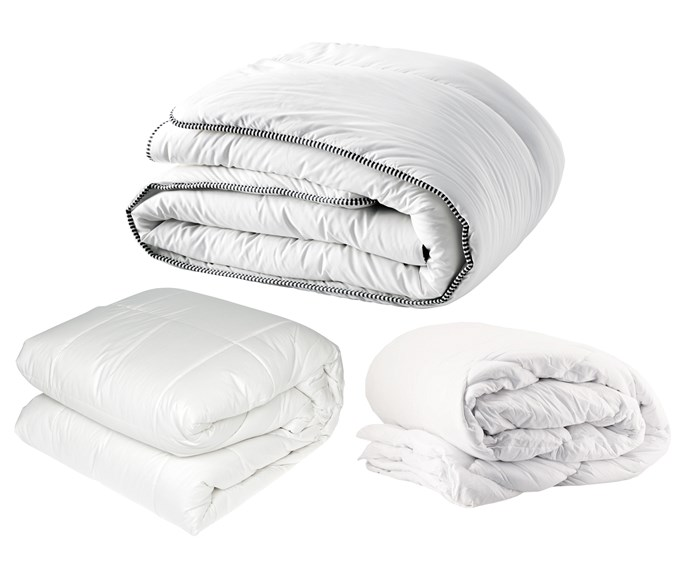 """**Quilts** (left to right) Washable wool quilt, $199/queen, [Freedom](https://www.freedom.com.au/