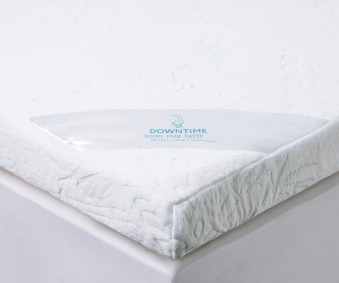 "**Mattress toppers** Downtime memory foam mattress topper, $299.99/queen, [Adairs](https://www.adairs.com.au/|target=""_blank""