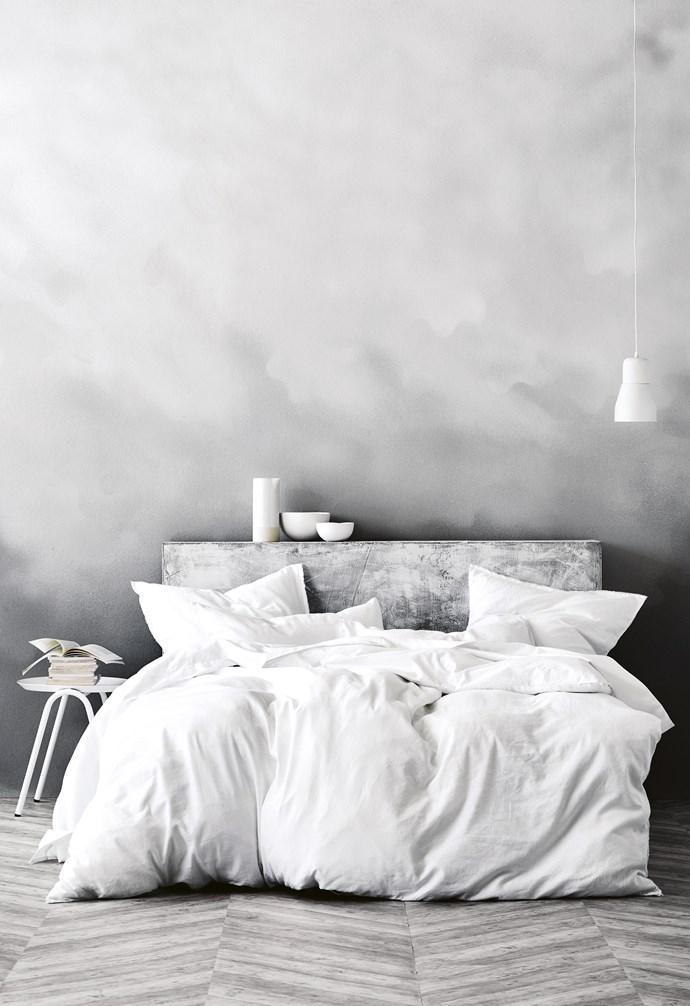"**Sweet dreams** 'Maison' quilt cover, $199/queen & pillowcases, $39.95 each, [Aura Home](https://www.aurahome.com.au/|target=""_blank""|rel=""nofollow""). *Image courtesy of [Aura Home](https://www.aurahome.com.au/|target=""_blank""|rel=""nofollow"")*."
