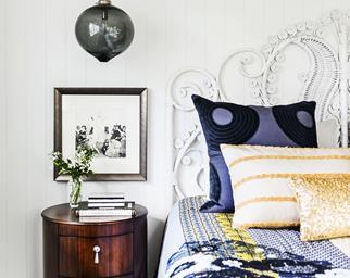 bohemian luxe bedroom