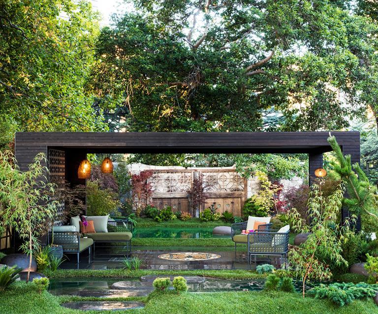 A Wellness Garden With A Japanese Influence Australian House And Garden