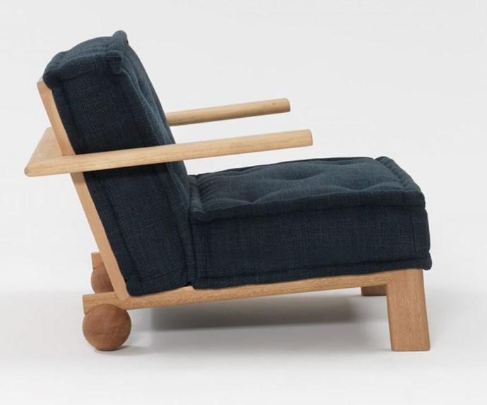"'Dune' linen and Tasmanian oak **armchair**, $4385, from [Jardan](https://fave.co/2vQo2V7 target=""_blank"" rel=""nofollow"")."