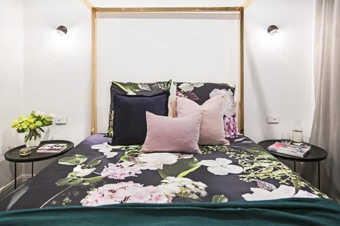 "**The Block 2016 - Julia and Sasha** - The first version of this room was torn apart by the judges who said the space lacked personality. But Julia triumphed over negative feedback made by the judges over the duration of the series, by revisiting this it during redo room week. [Switching the bedlinen](https://www.homestolove.com.au/bamboo-bed-linen-8-reasons-to-make-the-switch-5234|target=""_blank"") – and adding a drool-worthy [Kip&Co](https://kipandco.com.au/