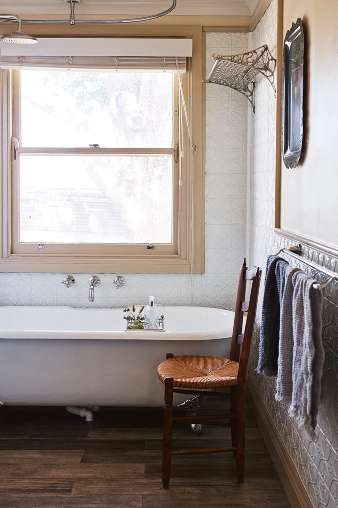 The church's bathroom was added when former owners turned it into a bed and breakfast.