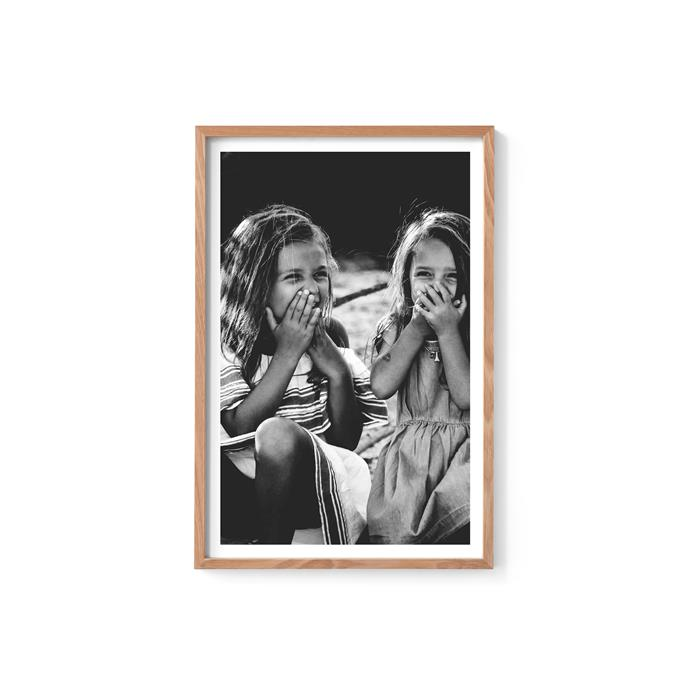 "Custom framed photo, from $90 (small), [Format Framing](https://formatframing.com.au/|target=""_blank""|rel=""nofollow"")"