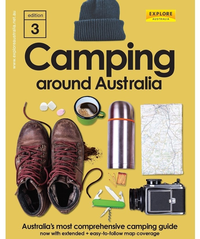 "Camping Around Australia 3rd Edition By Explore Australia (Hardie Grant), $49.99, [Hunting For George](https://fave.co/2vZr6Or|target=""_blank""