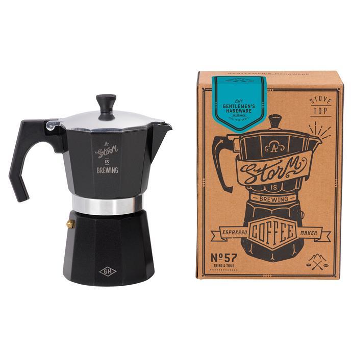 "Italian Style Coffee Percolator, $49.95, [Temple & Webster](https://www.templeandwebster.com.au/Italian-Style-Coffee-Percolator-GEN057-GSHW1013.html|target=""_blank""|rel=""nofollow"")"