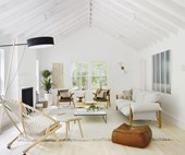 Hamptons with a twist: a touch of Scandi style transformed this holiday home