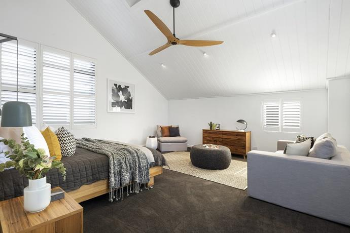 The property also features a separate studio space. *Photo: Domain*