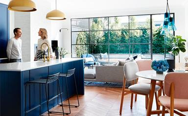 This Edwardian semi was renovated with imagination, style and attention to detail