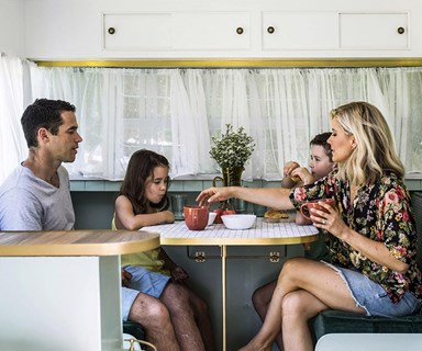 Michael and Carlene's second caravan renovation