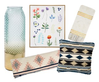 A selection of homewares from TK Maxx