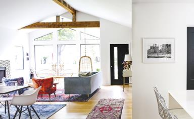 Sunshine state: a 1950s ranch house was transformed into a colourful abode
