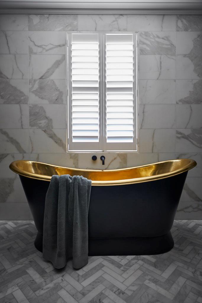 Behold, *the* $8000 brass bath.