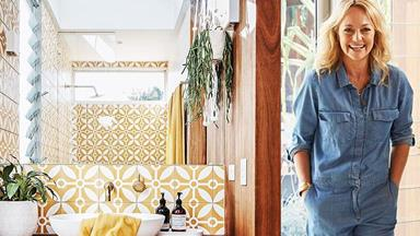 The Block's Shelley Craft's freshly-renovated Byron Bay home