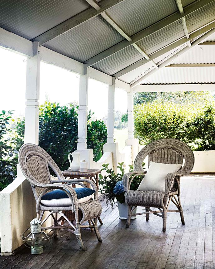 "The [wrap-around verandah](https://www.homestolove.com.au/country-verandahs-13365|target=""_blank"") is an ideal place for guests to relax and take in the scenery."