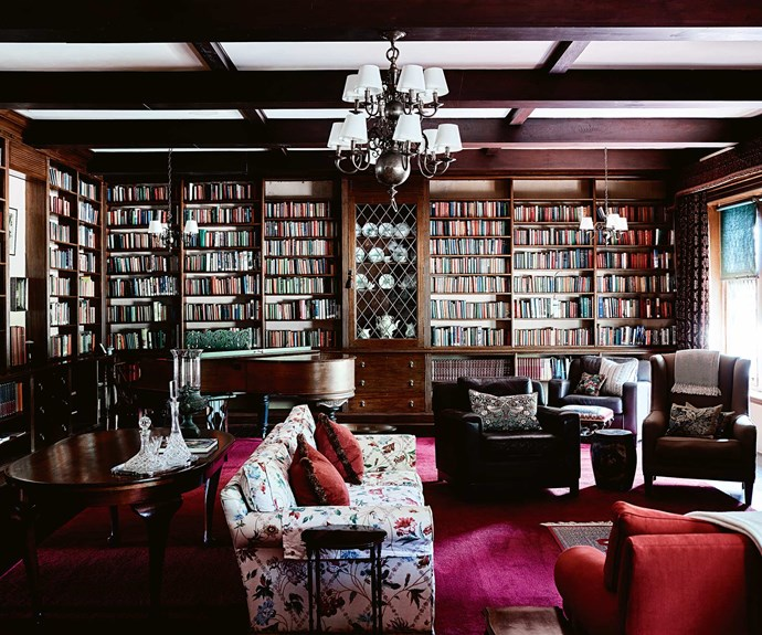 """The [home library](https://www.homestolove.com.au/best-home-library-designs-3504