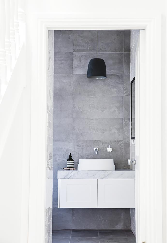 "**Top choice** If you're short on storage, a basin that sits above the bench will maximise cupboard space below. *Design: Jennie Cadman (jenniecadman@gmail.com) | Build: [Hobbs And Blair Construction](http://hobbsblair.com.au/|target=""_blank""