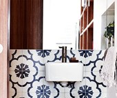 4 chic and functional powder rooms