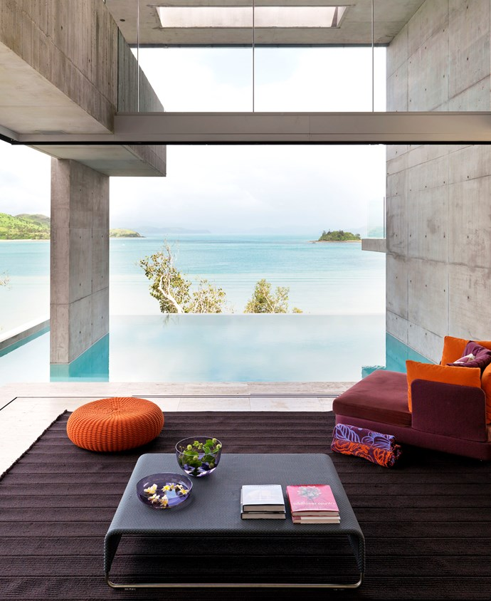 Hamilton Island home by Renato D'Ettorre Architects. Photograph by Mads Mogensen. From *Belle* April/May 2011.
