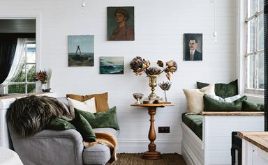 Inside Captain's Rest, Tasmania's cosiest Airbnb