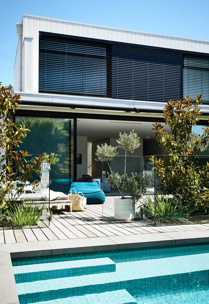 "**Tile it up** A fully tiled swimming pool is the classic look, but it's also usually the most expensive one. Gloster 'Grid' outdoor sofa [Cosh Living](https://www.coshliving.com.au/|target=""_blank""