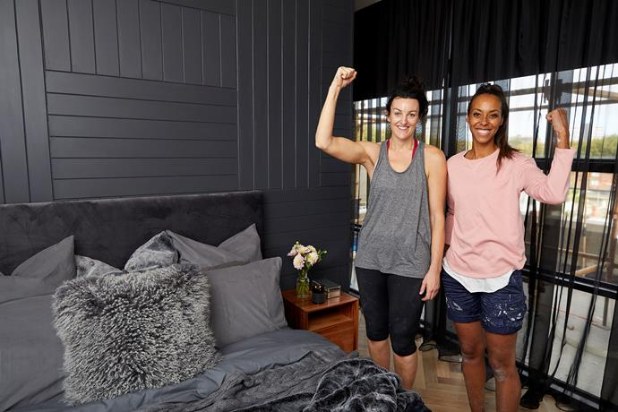 """**Carla and Bianca** certainly have an eye for style, but are, according to the judges, perhaps lacking an eye for detail when it comes to practicality. Even though their [feature wall](https://www.homestolove.com.au/feature-wall-ideas-5308