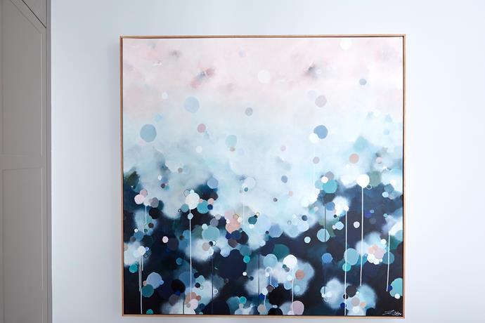 "'Nebula Haze #12' **artwork** by Jessie Rigby, $1275, from [The Block Shop](https://www.theblockshop.com.au/store/single/nebula-haze-12-by-jessie-rigby-limited-edition-print-on-canvas|target=""_blank""|rel=""nofollow"")."
