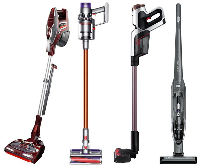 "**Stick and handheld vacuums** (left to right) Shark 'Rocket DuoClean' vacuum, $299, [Bing Lee](https://www.binglee.com.au/|target=""_blank""