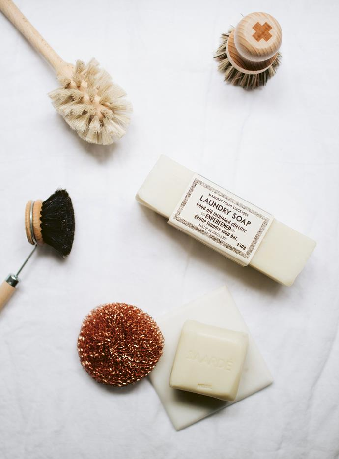 """Ditch harsh chemicals in favour of these natural and surprisingly effective [natural cleaning solutions >](https://www.homestolove.com.au/natural-cleaning-products-that-work-19563