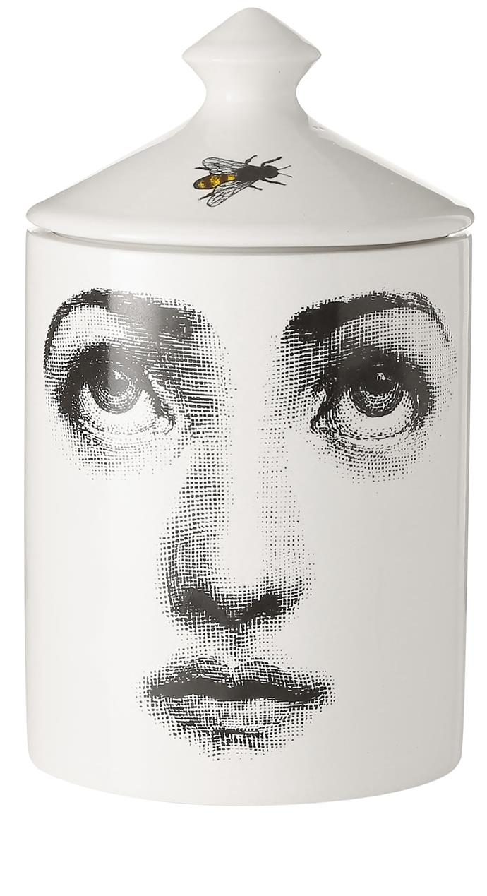 "Fornasetti ""L'Ape"" scented candle, $240.64 for 300g, [Net-A-Porter](https://fave.co/2wA0l3F