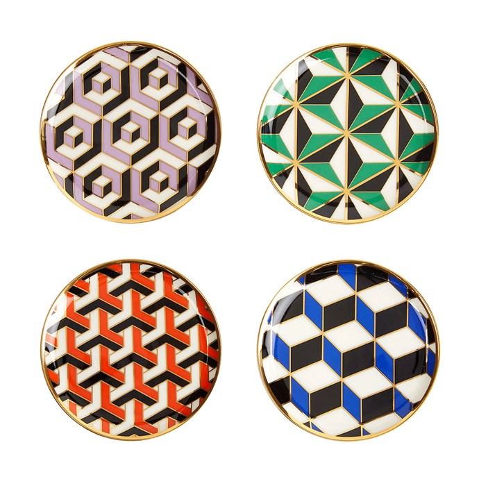 "Versailles coasters, $US68 (about $92) for four, [Jonathan Adler](https://fave.co/2oAiJoy|target=""_blank"")"