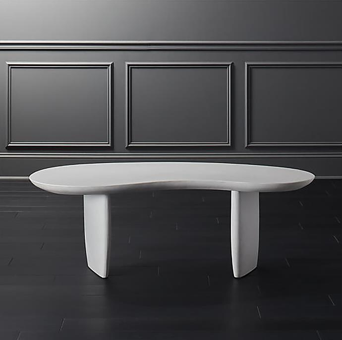 Jelly bean **coffee table**, $806.08