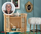 Channel Iris Apfel's interior style