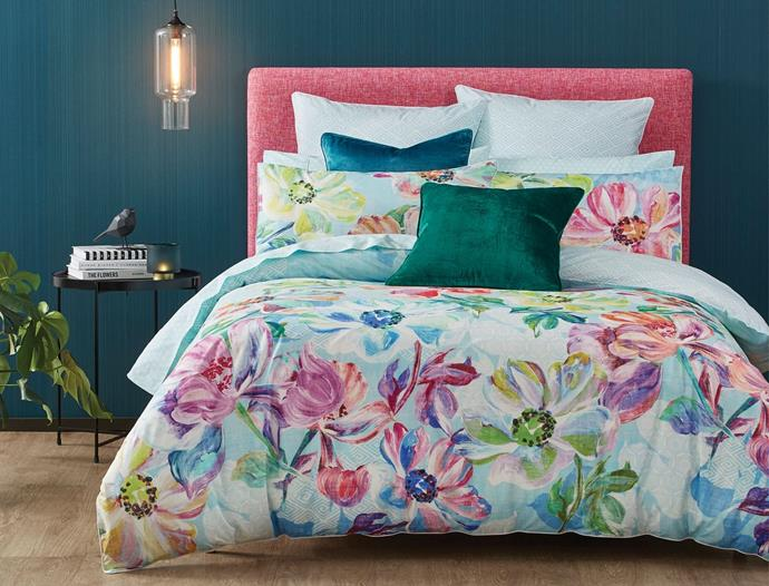 "'Sumida' **quilt cover** by Morgan and Finch, $99.95 (Queen), from [Bed Bath n' Table](https://www.bedbathntable.com.au/g-sumida-010302|target=""_blank""