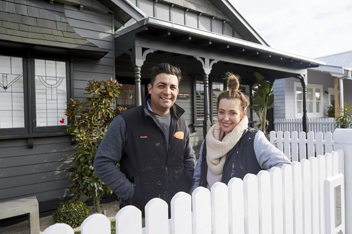 Ronnie and Georgia sold their renovated home in Elsternwick for $2,781,000 on The Block 2017.