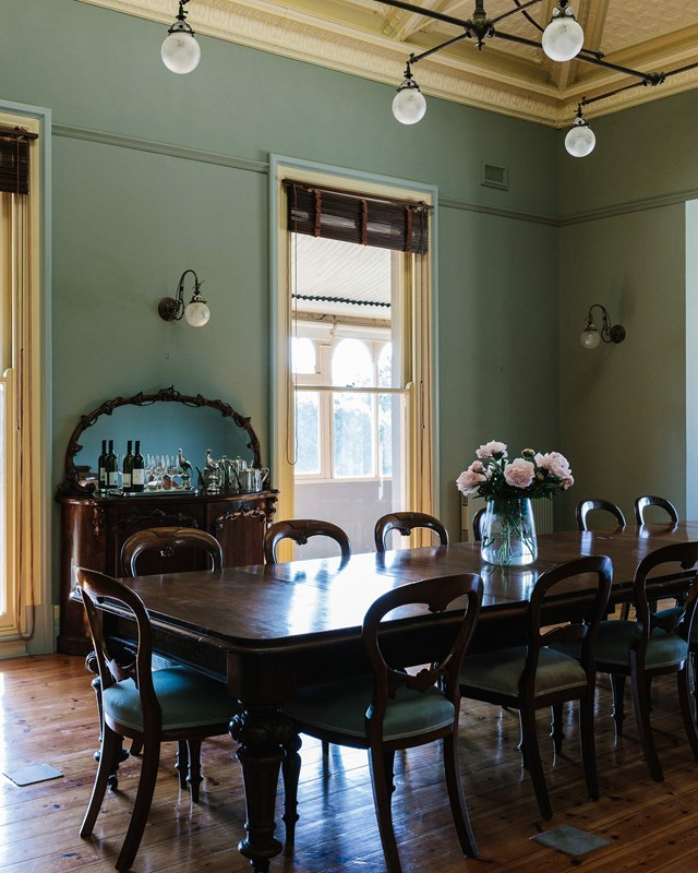 """When the Tol family moved into historic [Mount Mitchell homestead](https://www.homestolove.com.au/mount-mitchell-homestead-lexton-victoria-18951