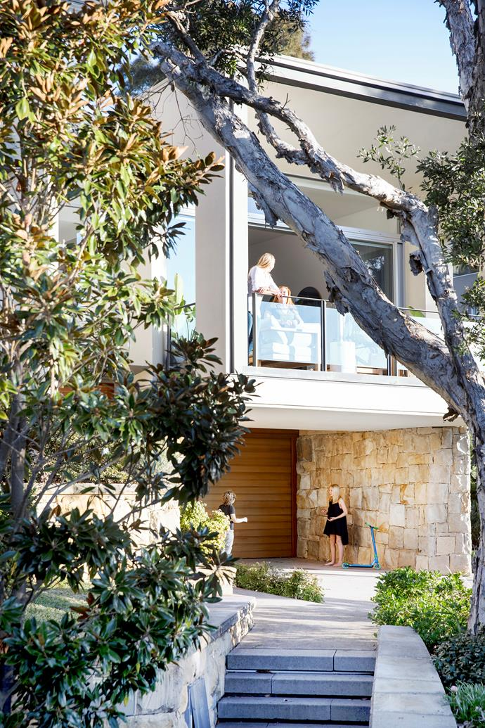 """Kerry loves the """"very Australian"""" nature of her home's harbourside location and open design."""
