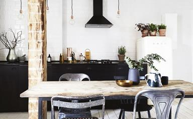 Step inside this sun-filled Copenhagen apartment with New York loft style