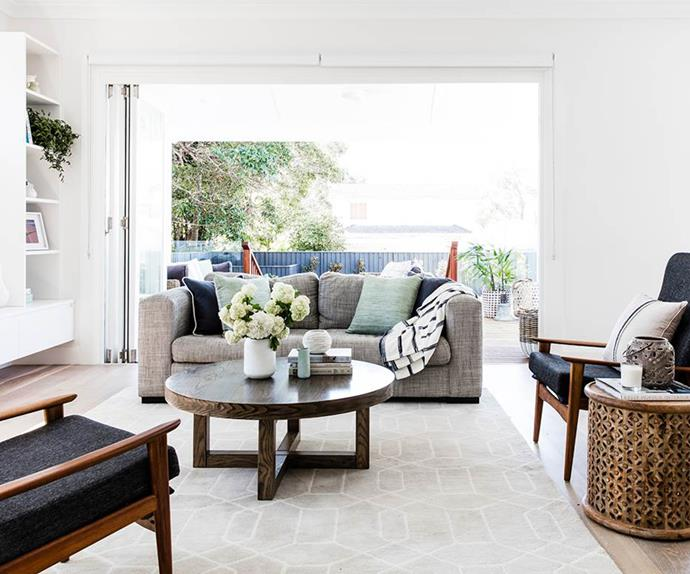 How to decorate a large living area