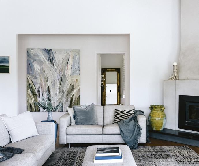 """""""I'm definitely the decorator,"""" Josephine adds. """"I love interiors."""" It's obvious though that they share a similar taste when it comes to styling, and both have an interest in [collecting eclectic artworks](https://www.homestolove.com.au/affordable-art-6833