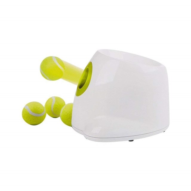 """Small Dog Ball Thrower Hyper Fetch Mini, $98.99, [Catch](https://www.catch.com.au/product/small-dog-ball-thrower-hyper-fetch-mini-all-for-paws-pet-interactive-ball-toy-3110272/