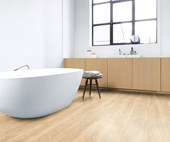 6 of the latest bathroom flooring options