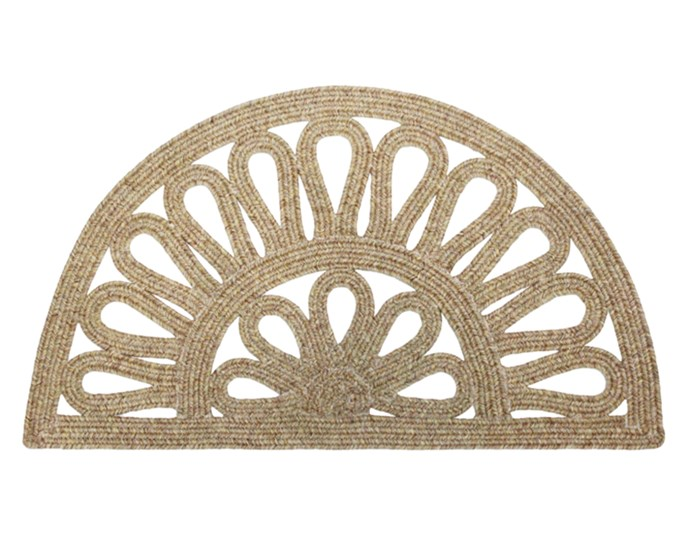 """**Hippie chic** Kerb appeal doesn't have to cost the earth. This boho 'Mandala' doormat, $40, is made of durable olefin in a playful curved pattern. Visit [Freedom](https://www.freedom.com.au/
