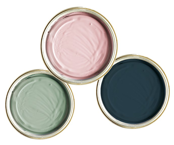 """**Brush strokes** Pastel shades add a pop of playful colour, while deep blue offers depth, perfect for both all-over paint or accents. *Pictured* '(left to right)  'Solagard' low sheen exterior paint in Cloud, $79.90/4L, [Wattyl](http://www.wattyl.com.au/en/